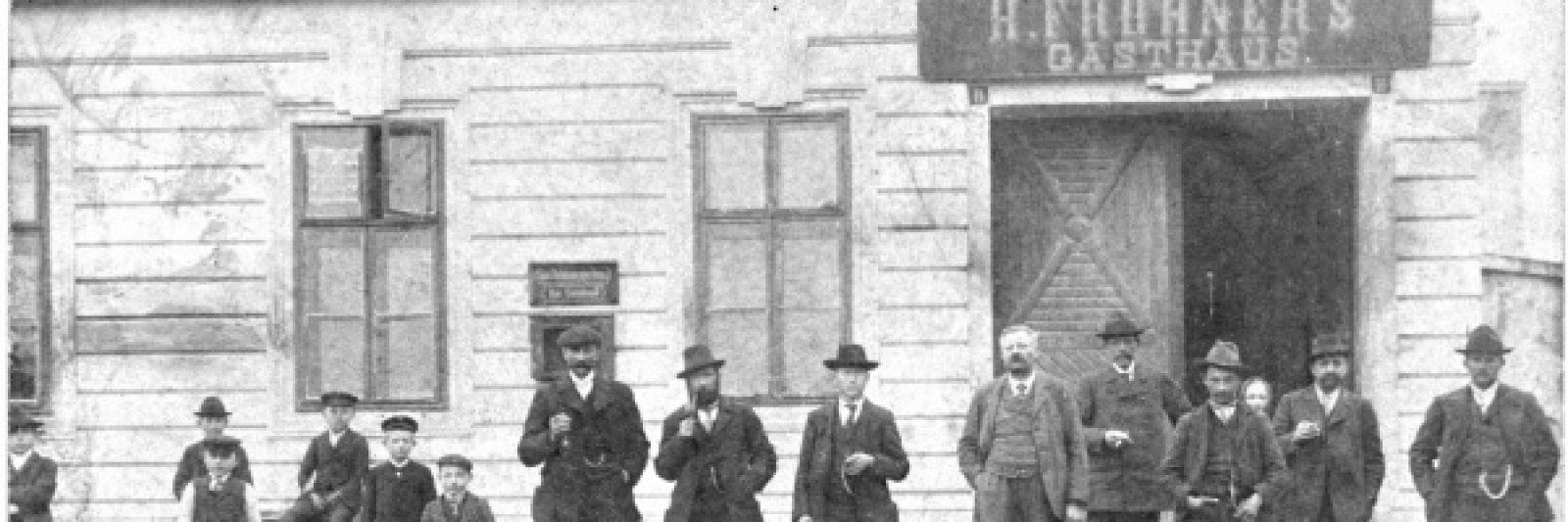 Gasthaus Frohner 1895