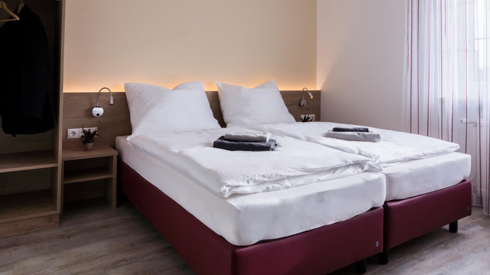Doppelbettzimmer BAUERs Gästehaus